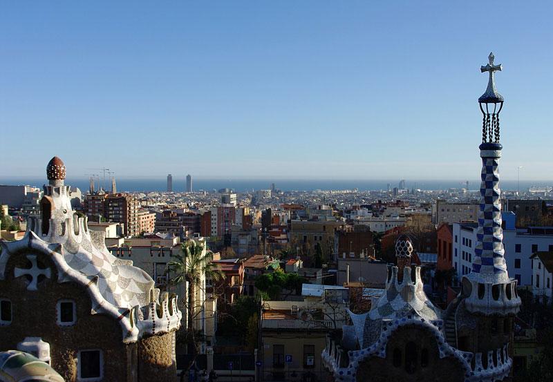 Парк Гуэль. Барселона