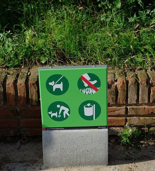 Знаки для туристов наверное:)