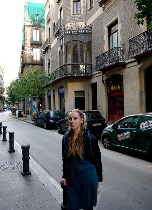 Барселона. Готический квартал.