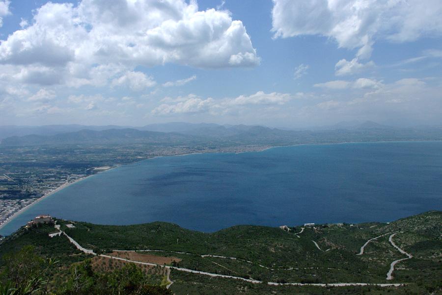 Вид с горы Герании
