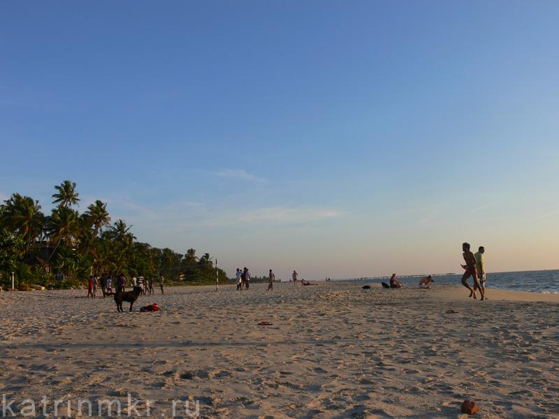 Пляж в Аллепи.