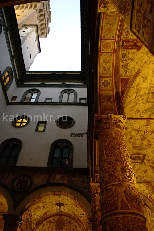 Палаццо Веккьо. Внутренний двор.