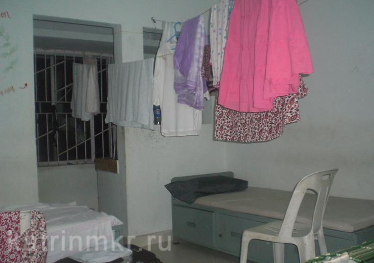 комната в ашраме Аммы Амританандамаи