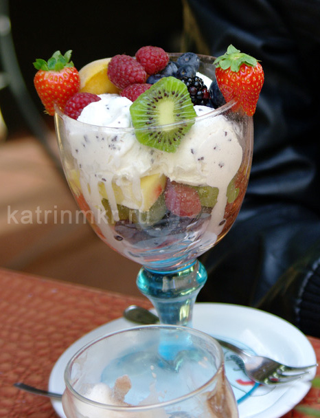 Мороженое за 15 евро.