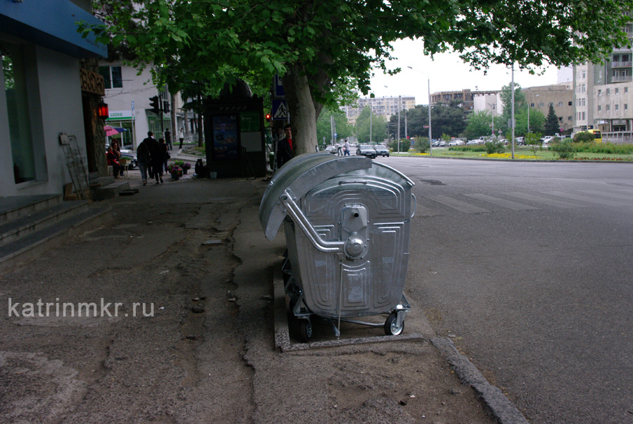 мусорки в Тбилиси