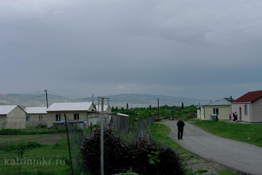 Лагеря беженцев около Гори