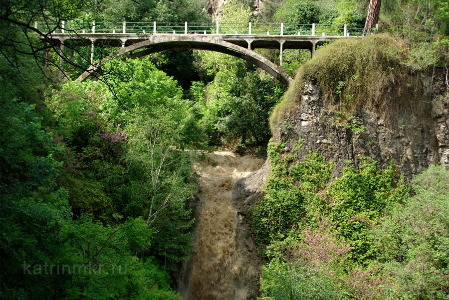 Ботанический сад. Водопад