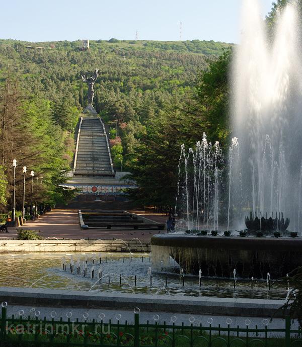 Тбилиси. Парк Ваке.
