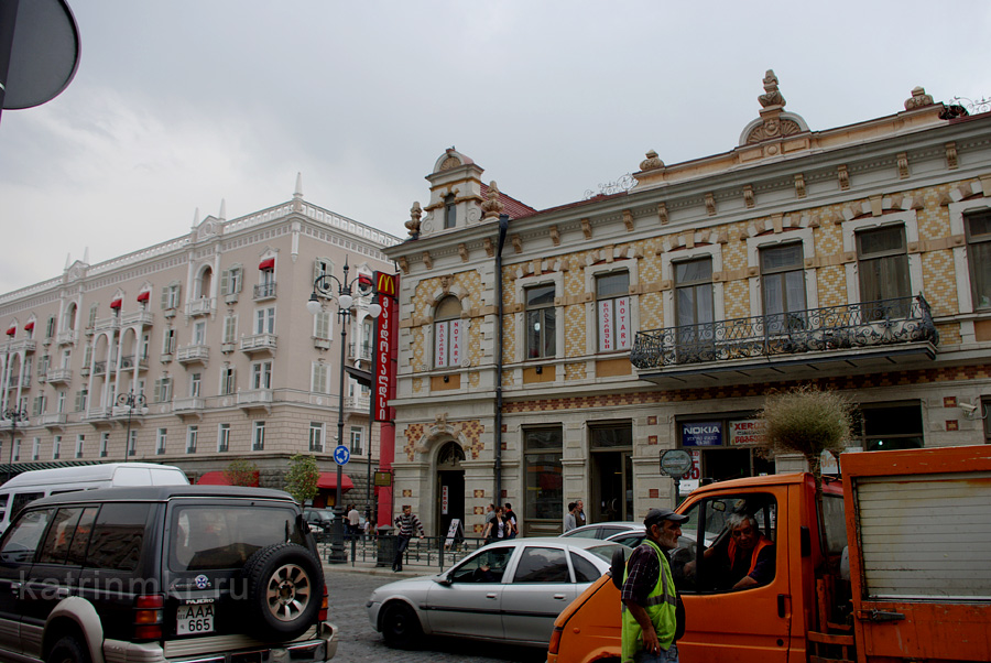 проспект Агмашенебели (бывший проспект Плеханова)