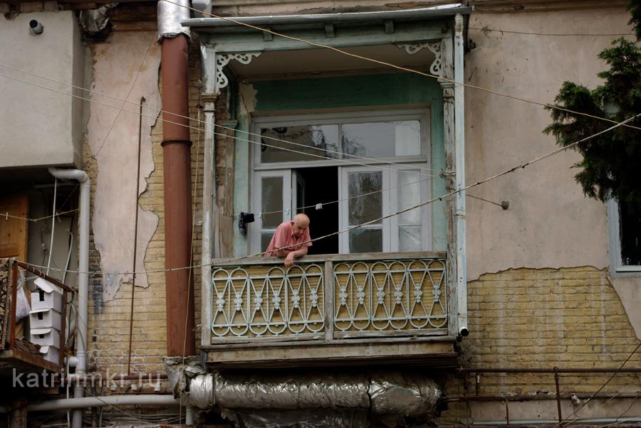 Тбилиси. Дворы.