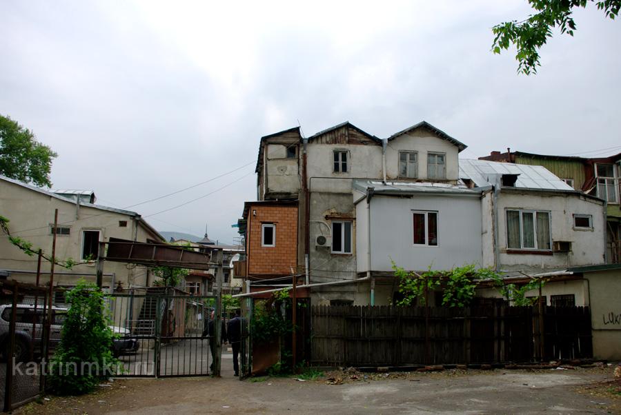 Тбилиси. Дворы бывшего проспекта Плеханова.