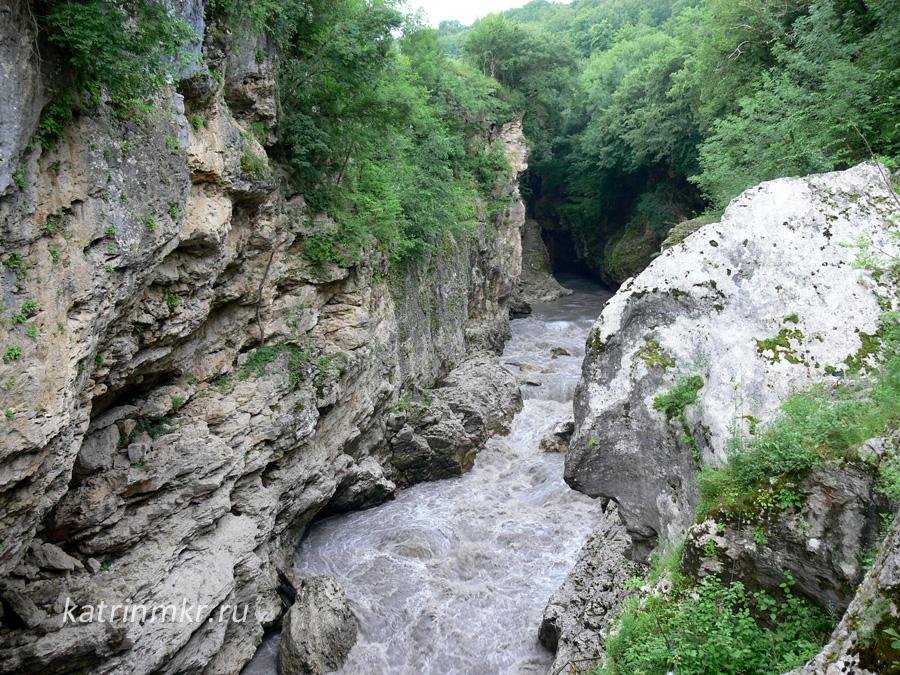 Теснина реки Белая