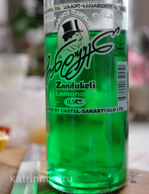 Лимонад с тархуном Zandukeli